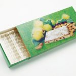Chocolates with matchstick type frame