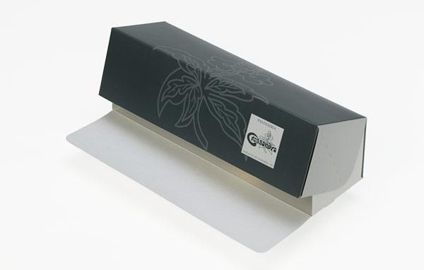 Front folding long box