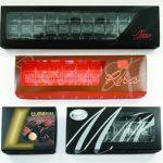 Chocolates lid semi-frame