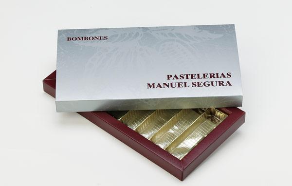 Chocolat cadre couvercle base