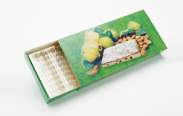 Chocolat sans cadre type allumettes