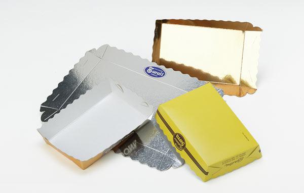Barquette carton conique montable