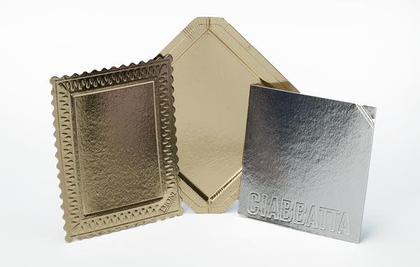 Tabuleiros metalizados