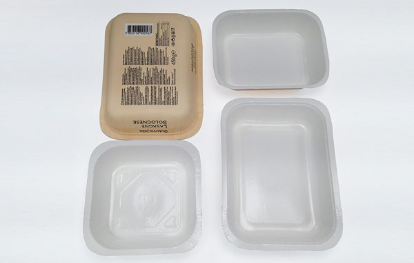 Bandeja alimentaria impermeable moldeada
