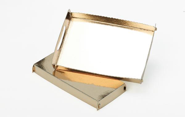 Bandejas oro/oro
